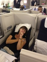Business Class Fun!